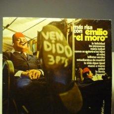Discos de vinilo: EMILIO EL MORO MÁS RISA CON EMILIO EL MORO. Lote 36849944