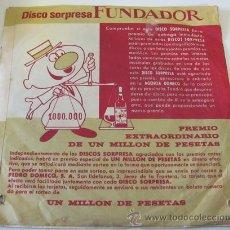 Discos de vinilo: MARTINCHU Y SU CONJUNTO - EP DEL SELLO FUNDADOR - 1964. Lote 36851278