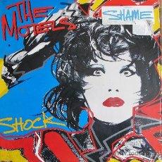 Discos de vinilo: LP - THE MOTELS - SHOCK (USA, CAPITOL RECORDS 1985). Lote 36857550