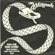 Discos de vinilo: WHITESNAKE EP SELLO UNITED ARTIST AÑO 1980. Lote 36859195