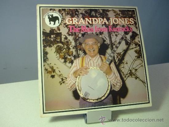 GRANPA JONES THE MAN FROM KENTUCKY (Música - Discos de Vinilo - Maxi Singles - Country y Folk)