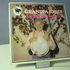 Discos de vinilo: GRANPA JONES THE MAN FROM KENTUCKY. Lote 36859956