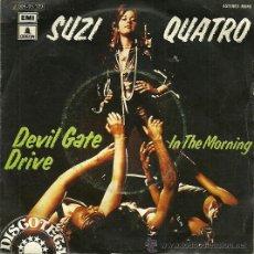 Discos de vinilo: SUZI QUATRO SINGLE SELLO EMI-ODEON AÑO 1974 EDITADO EN ESPAÑA.. Lote 36864810