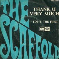 Discos de vinilo: THE SCAFFOLD SINGLE SELLO EMI-ODEON AÑO 1968 EDITADO EN ESPAÑA.. Lote 36865080