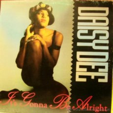 Discos de vinilo: DAISY DEE-IT´S GONNA BE ALRIGHT MAXI SINGLE VINILO 1991 SPAIN. Lote 36869772