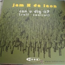 Discos de vinilo: JAM X DE LEON CAN U DIG IT? MAXI. Lote 36869803