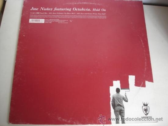 JOSE NUÑEZ FEATURING OCTAHVIA HOLD ON (Música - Discos de Vinilo - Maxi Singles - Electrónica, Avantgarde y Experimental)