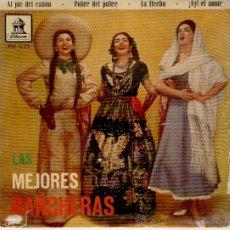 Discos de vinilo: LAS MEJORES RANCHERAS- ANTONIO AGUILAR - FLOR SILVESTRE - ROSA DE CASTILLA - OCTAVIO LOYA- EP 1960. Lote 36873446