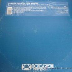 Discos de vinilo: DJ FLEX FEATURING KEN NORRIS GOOD FEELIN´ MAXI SINGLE. Lote 36888167