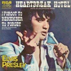 Discos de vinilo: ELVIS PRESLEY SINGLE SELLO RCA VICTOR AÑO 1974 EDITADO EN MEXICO. Lote 36889624