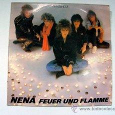 Discos de vinilo: NENA FEUER UND FLAMME MAXISINGLE 1985 . Lote 36890258