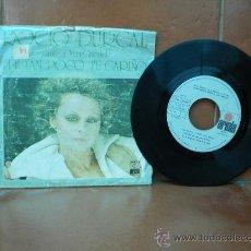 Discos de vinilo: SINGLE DE ROCIO DURCAL. Lote 36892643