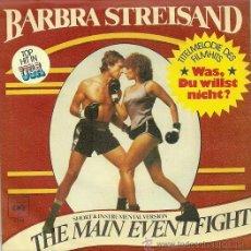 Discos de vinilo: BARBRA STREISAND SINGLE SELLO CBS AÑO 1979 EDITADO EN ALEMANIA . Lote 36897130