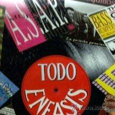 Discos de vinilo: TODO ENFASIS - DML, LOS RAPEROS DEL SUR, LOS COQUILLOS, ASAP, JUEGO PROHIBIDO.... Lote 36902840