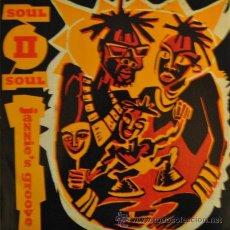 Discos de vinilo: SOUL II SOUL - JAZZIE'S GROOVE - 12