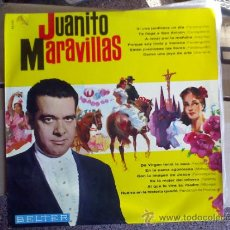 Discos de vinilo: JUANITO MARAVILLAS.. Lote 36908758