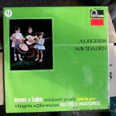 Discos de vinilo: ALEGRES NAVIDADES. 1967. Lote 36908967