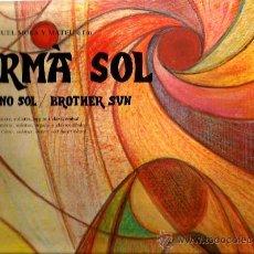 Discos de vinilo: LP GERMA SOL / HERMANO SOL / BROTHER SUN ( CANTATA PER A COR MIXTE, SOLISTES, ORGUE I CLAVINCEMBAL . Lote 36926309