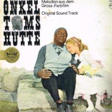 Discos de vinilo: ONKEL TOMS HUTTE - ORIGINAL SOUND TRACK - LP MADE IN GERMANY - PORTADA DOBLE. Lote 37150030