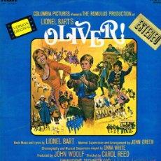 Discos de vinilo: OLIVER - LETRA Y MÚSICA LIONEL BART - LP 1969. Lote 37219875