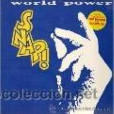Discos de vinilo: SNAP - WORLD POWER. Lote 36931534