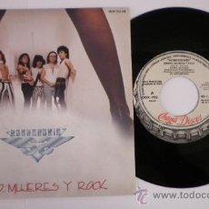 Discos de vinilo: SOBREDOSIS (SINGLE PROMOCIONAL) DINERO,MUJERES Y ROCK. Lote 36935354