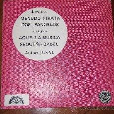 Discos de vinilo: CONJUNTO JUSAL - PEQUEÑA BABEL+3- BERTA-1968-. Lote 36937943