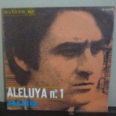 Discos de vinilo: AUTE - ALELUYA Nº. 1 - SINGLE RCA - 3-10225 - ESPAÑA 1967. Lote 36941471