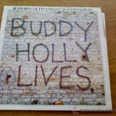 Discos de vinilo: BUDDY HOLLY. LIVES.& THE CRIKETS 20 GOLDEN GREATEST . EDICION INGLESA.. Lote 36942626