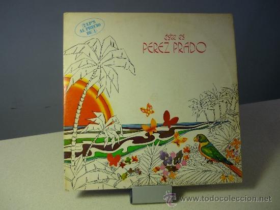 PEREZ PRADO ESTE ES PÉREZ PRADO VINILO LP (Música - Discos de Vinilo - Maxi Singles - Orquestas)