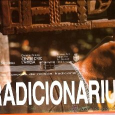 Discos de vinilo: DOBLE LP TRADICIONARIUS : PRIMERA NOTA, ELS TROBADORS, ROSA ZARAGOZA, JAUME ARNELLA, LA RURAL,TERCET. Lote 36952775