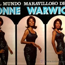 Discos de vinilo: LP DIONNE WARWICK : EL MUNDO MARAVILLOSO DE DIONNE WARWICK . Lote 36952994