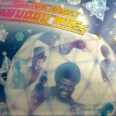 Discos de vinilo: LP BUDDY MILES : ALL THE FACES OF BUDDY MILES . Lote 36953021
