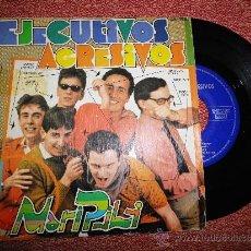 Discos de vinilo: EJECUTIVOS AGRESIVOS MARI PILI SINGLE VINILO DERRIBOS ARIAS MOVIDA POCH JAIME URRUTIA DEL AÑO 1980. Lote 36955527