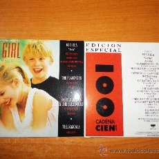 Discos de vinilo: THE FLAMINGOS BANDA SONORA MY GIRL MI CHICA DOBLE SINGLE VINILO PROMOCIONAL CADENA 100. Lote 36956090