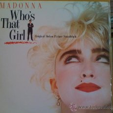 Discos de vinilo: MADONNA - BSO WHO IS THAT GIRL -. Lote 75304319