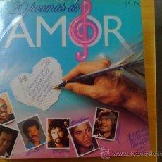 Discos de vinilo: 20 POEMAS DE AMOR - VARIOS INTÉRPRETES -. Lote 37005135