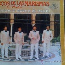 Discos de vinilo: ECOS DE LAS MARISMAS - VAMOS A DARNOS LA MANO -. Lote 37018590