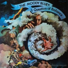 Discos de vinil: THE MOODY BLUES - QUESTION OF BALANCE - EDICIÓN DE 1970 DE ESPAÑA. Lote 37035549