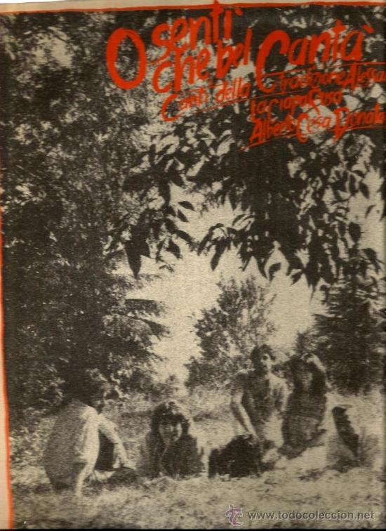 LP LA CIAPA RUSA : O SENTI CHE BEL CANTA (Música - Discos - LP Vinilo - Étnicas y Músicas del Mundo)
