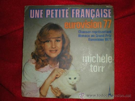 MICHÈLE TORR (EUROVISION 77) (Música - Discos de Vinilo - Maxi Singles - Festival de Eurovisión)