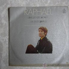 Discos de vinilo: SINGLE RAPHAEL, HISPAVOX H595. Lote 36968346