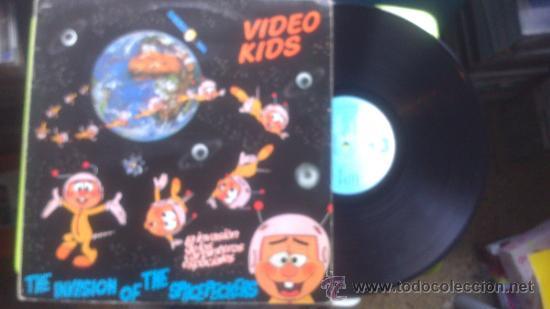 VIDEO KIDS-LA INVASION DE LOS CARPINTEROS ESPACIALES ( 1984 VICTORIA ) (Música - Discos - LP Vinilo - Disco y Dance)