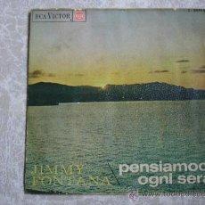 Discos de vinilo: SINGLE JIMMY FONTANA, RCA VICTOR 3-20975 AÑO 1966.. Lote 36971821