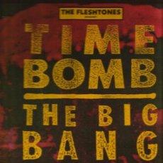 Discos de vinilo: LP TIME BOMB : THE FLESHTONES + ACTION COMBO + ACTION DOGS + MAD VIOLETS + ETC . Lote 36976130