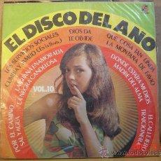 Discos de vinilo: VARIOS ARTISTAS - EL DISCO DEL AÑO VOL. 10 - FAMOSO LDF-1208 - EDICION ECUATORIANA. Lote 36976535