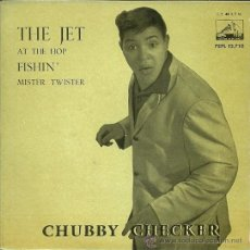 Discos de vinilo: CHUBBY CHECKER EP SELLO LA VOZ DE SU AMO AÑO 1962 EDITADO EN ESPAÑA . Lote 36989357