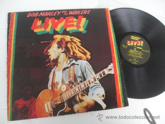 BOB MARLEY LP LIVE MADE IN GERMANY 1975 MATRIX 89729 (Música - Discos - LP Vinilo - Reggae - Ska)