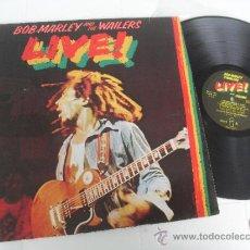 Discos de vinilo: BOB MARLEY LP LIVE MADE IN GERMANY 1975 MATRIX 89729. Lote 37000748