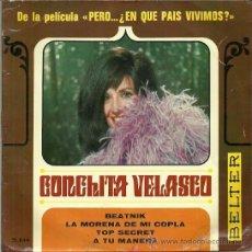 Discos de vinilo: CONCHITA VELASCO EP SELLO BELTER AÑO 1967 EDITADO EN ESPAÑA. Lote 37004280
